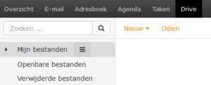 Ziggo drive onder webmail
